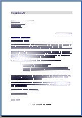 Muster Bewerbungsschreiben Praktikantin