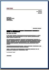 Bewerbungsanschreiben Dozentin