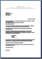 Bewerbungsschreiben Warenhausdetektiv