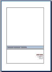 Deckblatt Bewerbung Mitarbeiterin Stammdatenpflege